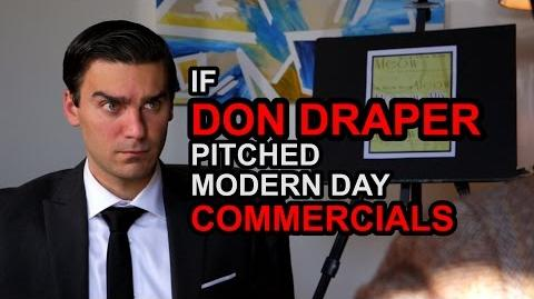 If Don Draper Pitched Modern Day Commercials