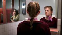 Peggy bathroom ladies room