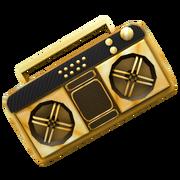 Golden Boom Box