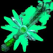 Emerald particles