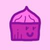 Paint cupcake