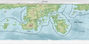 Antior World Map