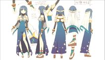 Magia record yachiyo magical outfit design