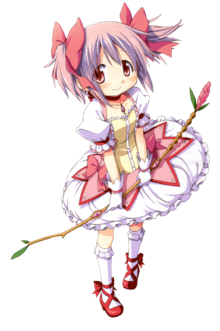 Madoka Magica Kaname Madoka Kawaii HD Render