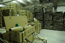 Flickr - Israel Defense Forces - Confiscated Ammunition in Warehouse