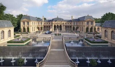 Amazing-Gigantic-Mega-Mansion-Design-Proposal-Le-Domaine-Des-Chênes 2-1000x580