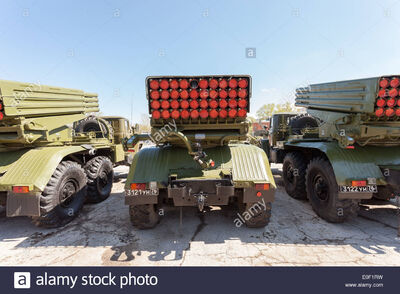 Bm-21-grad-122-mm-multiple-rocket-launcher-on-ural-375d-chassis-E0F1RW