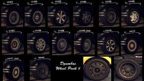 Dgumbas Wheel Pack 4