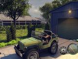 Универсальный переделанный Jeep