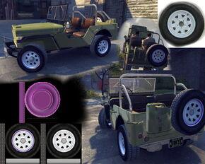 Super tuning jeep civil