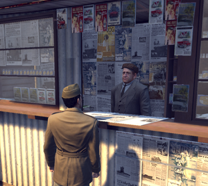 Newspapern