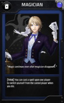 Jobcard magician