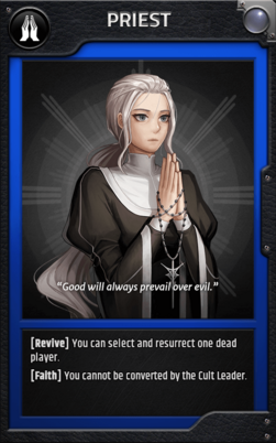 Jobcard priest