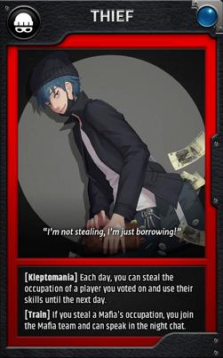 Jobcard thief