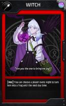Jobcard witch
