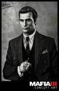 Vito Scaletta (Mafia III) Concept Art 3