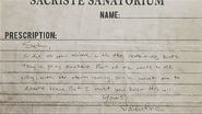 Note - Sacriste Sanatorium 1