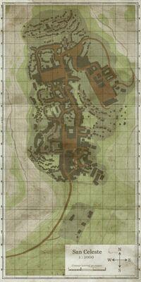 San Celeste Map