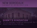 Sammy's Renovation