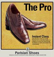 Parisian Shoes Ad
