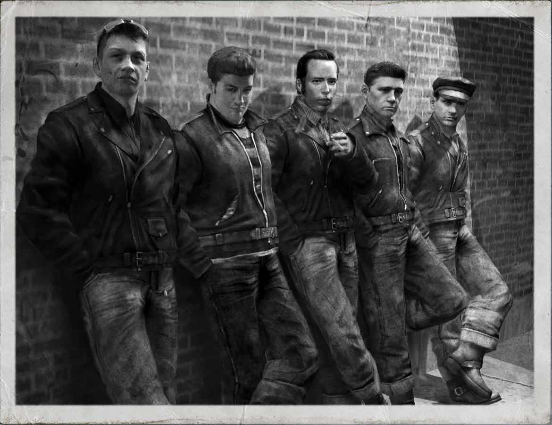 Image result for 1950's greaser gang