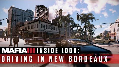 Mafia III Inside Look – Driving in New Bordeaux