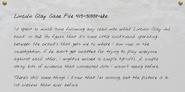 Lincoln Clay Case File 415-5100t-68e-3