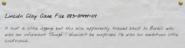 Lincoln Clay Case File 083-0149t-11t-1