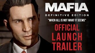 """Mafia Definitive Edition - Launch Trailer """"When All is Not What it Seems"""""""