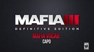 Mafia Vocab Capo - Mafia Trilogy