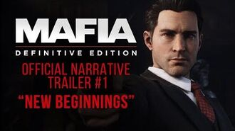 "Mafia Definitive Edition - Official Narrative Trailer 1 - ""New Beginnings"""