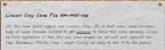 Lincoln Clay Case File 004-093k-06b-1