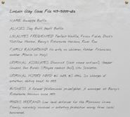 Lincoln Clay Case File 415-5100t-68e-1
