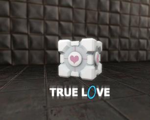 Portal companion cube 8