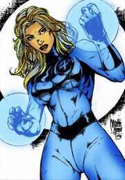 Invisible Woman by Dante Picasso