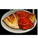 Standard 75x75 dinnerserved calzone 01