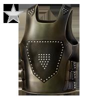 Huge item rivetleather silver 01