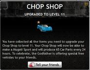 Chop Shop Level 11