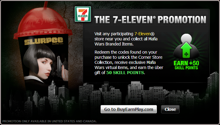 The 7-Eleven Promotion