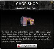 Chop Shop Level 2
