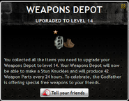 Weapons Depot Level 14