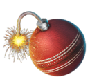 Exploding Cricket Ball