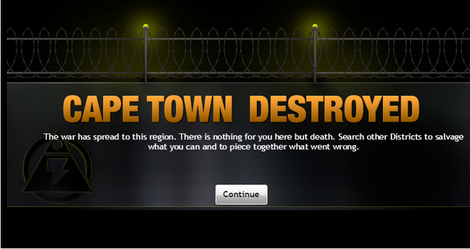Cape Town Destroyed