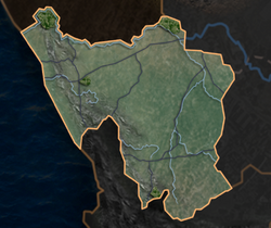 South africa district map bg 9 02