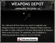 Weapons Depot Level 12