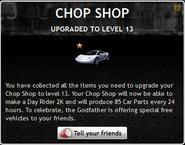 Chop Shop Level 13
