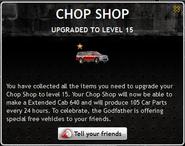 Chop Shop Level 15