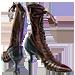 Standard 75x75 collect spool heels