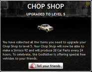 Chop Shop Level 5
