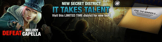 Promo Secret District 31 lootBandit